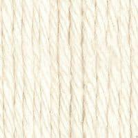 Lily Sugar'N Cream Aran Knitting Wool Yarn 71g -1004 Soft Ecru